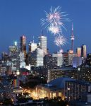 Toronto Glows in the Light of Fireworks