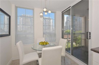 35 MERTON STREET - SUITE #606 - BREAKFAST ROOM WITH WALK-OUT TO BALCONY