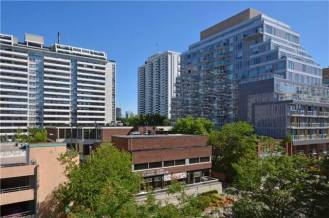 35 MERTON STREET - SUITE #606 - VIEW NORTH FROM BALCONY